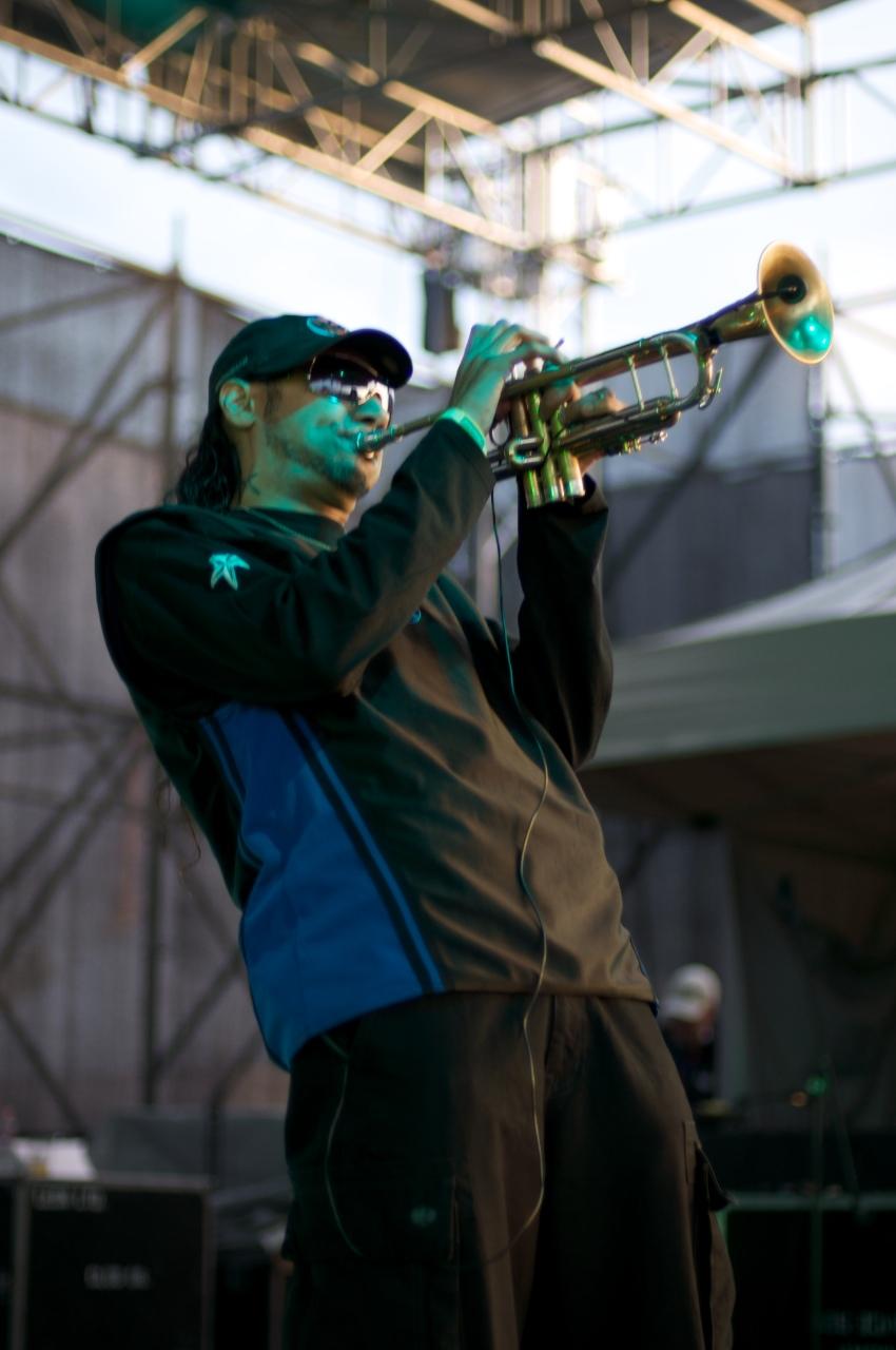 Brownman - Guru's Jazzmatazz