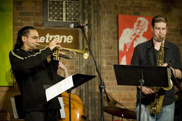 BROWNMAN - trumpet, RYAN OLIVER - tenor