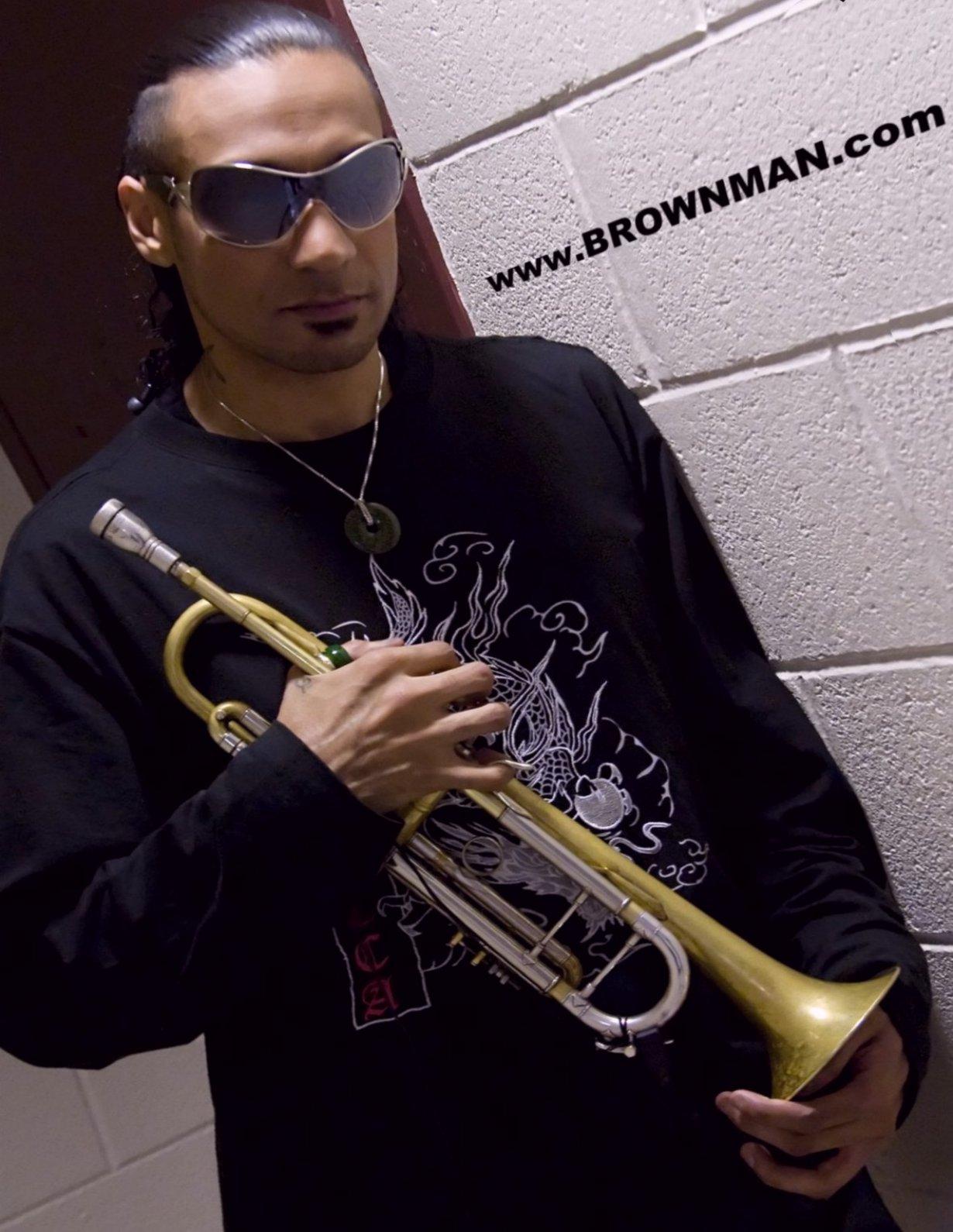 Brownman on tour - Detroit