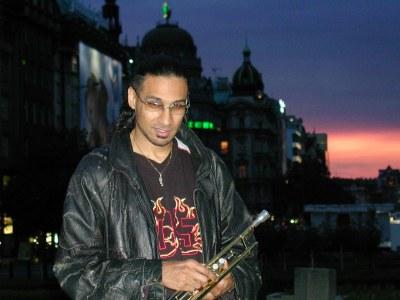 Brownman on tour - Prague